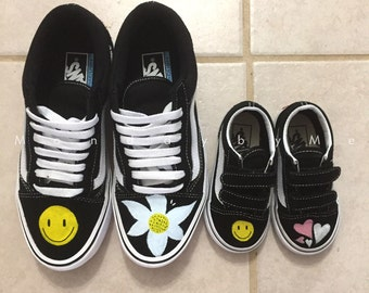 Custom Vans mommy and me shoes daddy and me shoes