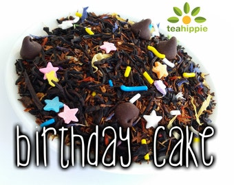 50g Birthday Cake - Loose Black Tea
