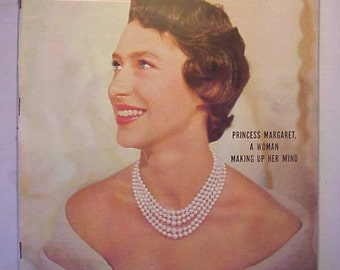 October 10, 1955 LIFE Magazine with Princess Margaret on the Cover has 196 pages of ads and articles