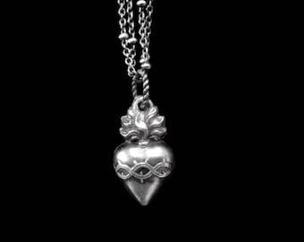 Sacred Heart of Marie EX VOTO Charm