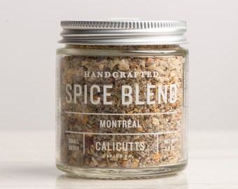 Montréal - Handcrafted Spice Blend - 2.5 ounces in Glass Jar, All-Natural and Gluten Free
