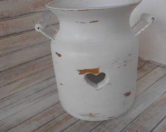 White Utensil Holder - Utensil Caddy - Wood Cutlery Holder - Kitchen Tool Holder - Kitchen Decor - Farmhouse/ Cottage Kitchen Decor-Caddy