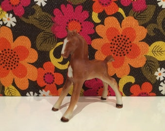Vintage China Horse Kitsch Cute Foal Pony