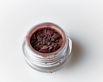 Spiced Fig . Mineral Eye Shadow . Espresso . Brown . Everyday Eye Shadow . Loose Mineral Cosmetics . Naked . Natural Beauty