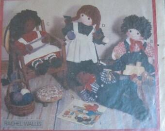 Fun Has Just BEgaun, The Butterick Stuffed Doll Patterns