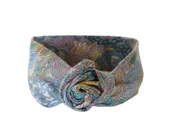 Multicolor Flowered headband