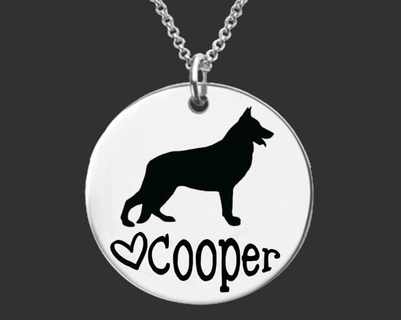 German Shepard Necklace | German Shepard Jewelry | Personalized Gifts | Korena Loves