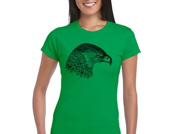 Ladies eagle in water t shirt, eagle print, animal print, animal tshirt, animal print, snake tshirt, instagram, #eagle, #eagleprint, soft