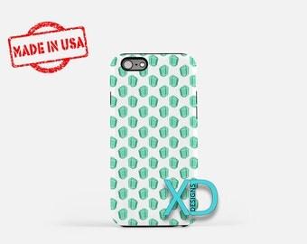 Emerald Phone Case, Emerald iPhone Case, Gemstone iPhone 7 Case, Green, Gemstone iPhone 8 Case, Emerald Tough Case, Clear Case, Jewels, Gems