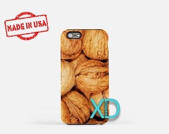 Walnut iPhone Case, Food iPhone Case, Walnut iPhone 8 Case, iPhone 6s Case, iPhone 7 Case, Phone Case, iPhone X Case, SE Case New