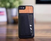 Leather iPhone 6 Wallet Card ID Case, Ultra-slim iPhone 6s Leather Card Carrying Case