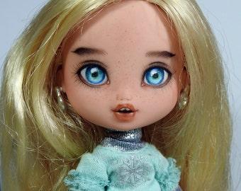 Bratz Kidz - Cloe repaint-repainted OOAK doll