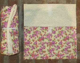 Diaper Changing Kit - Shabby Chic