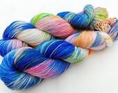 Handpainted Sock Yarn, 75 Wool  superwash, 25 Nylon 100g 3.5 oz.  Nr. 511