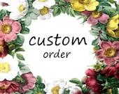 Custom Order for Yash
