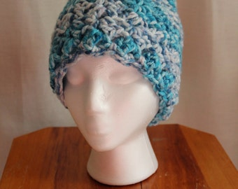 Cross Hatched Hat Beanie - Made to Order