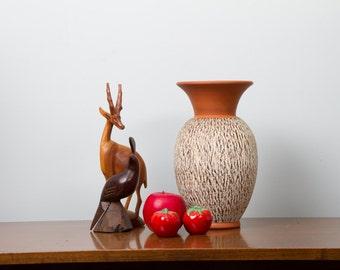 West German Pottery  Eckhardt & Engler  Decor Rinde