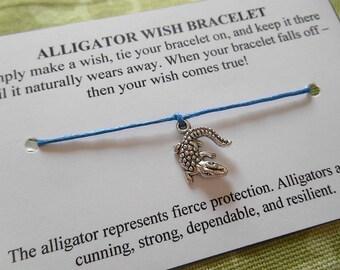 Alligator Wish Bracelet - Choose your Color