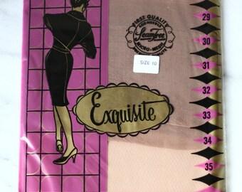 1960s Exquiste nylons // deadstock hoisery // vintage nylons
