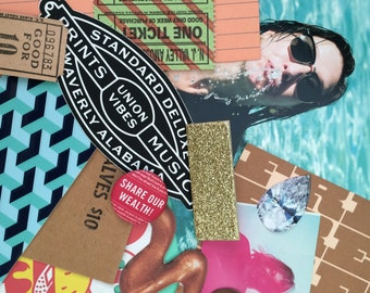 Party Pack: Ephemera & Collage Kit