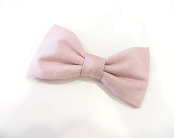 Bow Tie Cameo Color, Cameo Blush Bow Tie, Cameo Colored Bow Tie, Pink Bow Tie