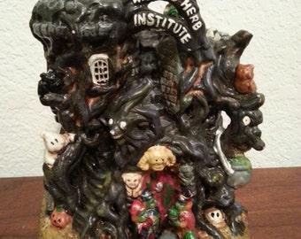 Wizard Herb Institute Ceramic Figurine
