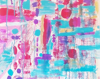 Colorful Abstract Painting, Original abstract Painting, Original Painting, Abstract Wall art, Colorful Abstract Art, Wall art, Colorful Art