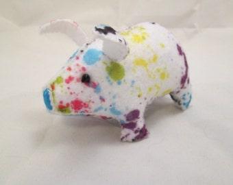 Pig - Paint Spatter