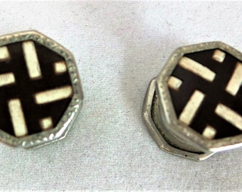 Art Deco Snap Cufflinks