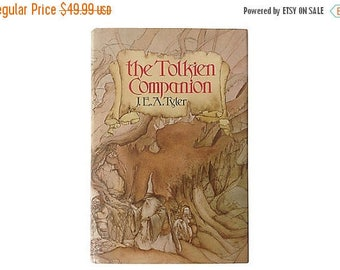 30% Off The Tolkien Companion by J. E. A. Tyler, Perfect Gift for Hobbit Fan, Tons of Tolkien Trivia, Lovely Edition, St. Martin's Press, 19