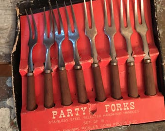 Set of 8 Party Forks
