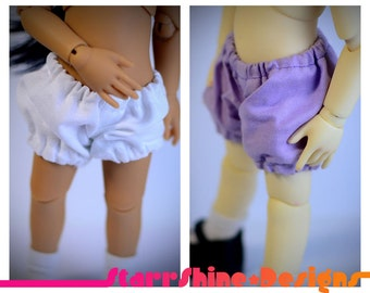 BJD YoSD 1/6 Doll clothing - Bloomers - 6 Colors
