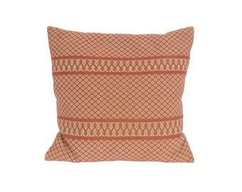Vintage Pillow 60s Mid Century Modern Handmade Pillow Sweden