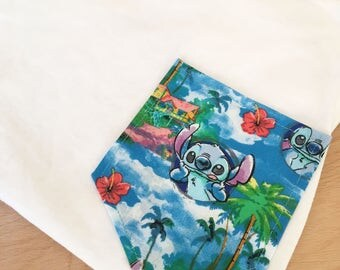 Hawaiian Stitch Tee Pocket