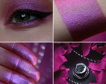 Eyeshadow: Wild Girl - Fairy. Warm pink satin eyeshadow by SIGIL inspired.