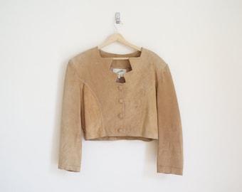 Vintage 1980s Suede Jacket