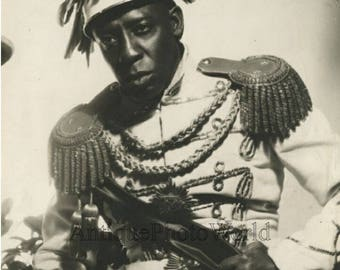 Clarence Muse black actor in costume antique photo by John Alfred Piver