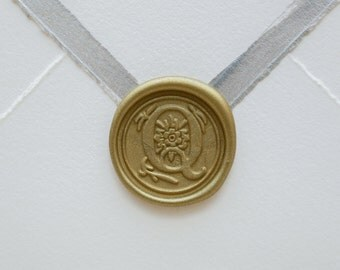 Q letter wax seal