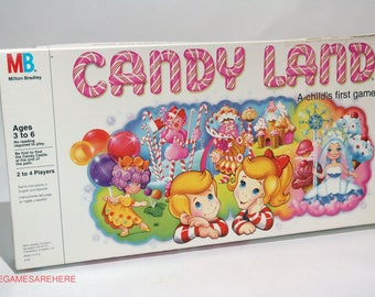 Candy Land Game from Milton Bradley 1984 COMPLETE (read description)