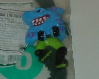 Street Sharks! Wrist Crunch'r!  1996! Streex! Taco Bell! Unopened!
