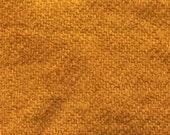 "Fat Eighth - Wool Fabric - Hand Dyed - Forsythia - 100% Wool - 16"" x 12"""