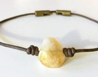 Citrine Choker/Necklace