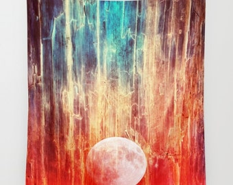 Moon Tapestry | Hippie Tapestry | Abstract Tapestry | Space Tapestry | Galaxy Tapestry | Magical Tapestry | Boho Tapestry | Lunar Tapestry