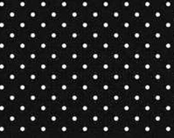 Swiss Dots - C670-110 Black