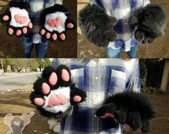 Custom 5 Finger Fursuit Handpaws