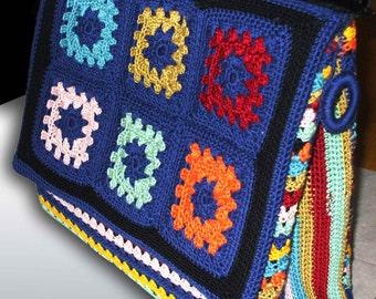 BORSA uncinetto tipo Miss-Sicily-Crocheted