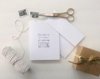 Christmas // Greeting Card