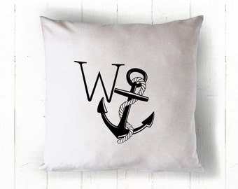 Rude pillow - WAnker Pillow - Cussing pillow - Accent cushion - Rude Cushion - Wanker - Sweary cushion - Rude typography - Typography pillow