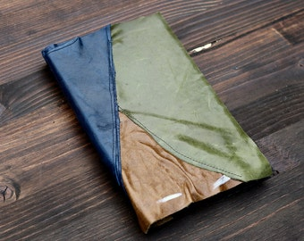 Lined Green Leather Journal