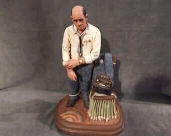 "Vintage Michael Garman ""Dr. House Call"" Figurine"